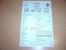 Fiche technique Regla'tech l'Expert automobile Mercedes 300 GE
