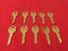 Lot Of 10 NEW IGNITION Key Blank Uncut B45 H For GM Cars