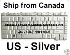 Toshiba Satellite A200 A205 A210 A215 M200 M205 L515 Keyboard US English Silver