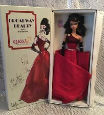 RARE BROADWAY BEAUTY 2012 GAW CONVENTION BARBIE DOLL INDIVIDUALLY NUMBERED MINT