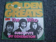The Who-Substitute 7 PS-Made in Germany-Golden Greats
