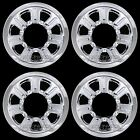 "4 2000-2011 Ranger 15"" Chrome Wheel Skins Hub Caps Full Covers 7 Spoke Steel Rim"