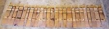 1/2 Barrel Staves, set of 24 solid oak staves for your projects
