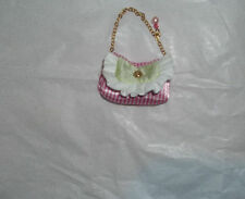 BARBIE DOLL TARINA TARANTINO PINK GREEN CHAIN BAG ACCESSORY FOR DIORAMA