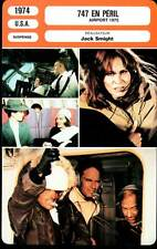 747 EN PERIL - Heston,Black,Kennedy (Fiche Cinéma) 1974 - Airport 1975