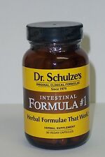 Dr Schulze's Intestinal Formula #1 Colon Bowel Cleanse, Constipation relief SALE