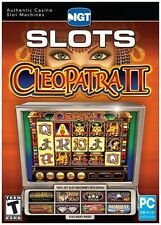 Casino Slots Cleopatra II *** SEALED - for Windows. Free shipping