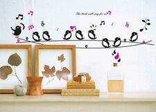 Wall Stickers Wall Decal The bird will sing for Us AY7019