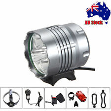 10000Lm 4X CREE XML T6 LED Head Front Bicycle light Bike Lamp Headlight Battery