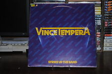 VINCE TEMPERA STRIKE UP THE BAND  LP 33 GIRI 12""