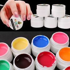 12 Farben Neu Pro UV Gel Set Deko Tipps Farbgel Nagelgel Pure Nail Art Farben