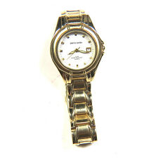 Pierre Cardin Ladies WAtch Gold tone PC4344YS Analog Watch With Date 3ATM 6.5""