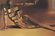 Framed Print - Salvador Dali Wardrobe Chest Woman (Painting Picture Poster Art)