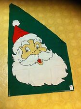 Collegeville Imagineering Inc Santa Claus Christmas flag 1993 Holiday Decoration