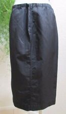 90's Diesel Black Parachute Midi Skirt Full Zipper Side Drawsting Waist Size S