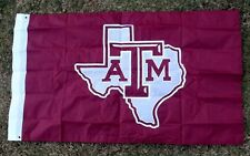 Collegiate Outfitters Texas A&M LONE STAR State Aggieland  3'x5' Spirit Flag