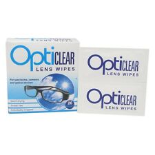 Opticlear Lens Wipes for Glasses, Spectacles ,Cameras, Optical Devices -26 Wipes