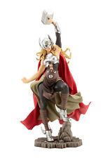 """KOTOBUKIYA MARVEL Hembra estatua de Thor BISHOUJO escala 1/7 - 30cm/12"""" - MK198"""