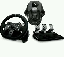 NEW Logitech G920 Driving Force Racing Wheel & Pedals/Gearshift XBOX PC BUNDLE