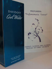 PROFUMO DAVIDOFF COOL WATER 125 ml SPRAY  VAPO READ BELOW             ORIGINALE