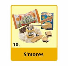RE-MENT MINI SWEETS # 10 SMORES - 1:6 NEW W/BOX- SHIPS FREE