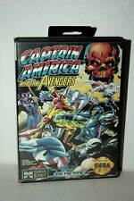 CAPTAIN AMERICA AND THE AVENGERS USATO SEGA GENESIS EDIZIONE AMERICANA DM1 41039