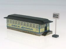 IMEX N Scale 6304 IMEX Diner Built Up and Painted Building New!