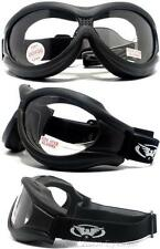 Global Vision Big Ben Clear Anti Fog Goggles Will Fit Over Most Glasses W Pouch