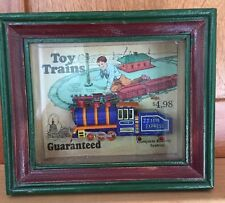 Express Shadows OF Yesterday Toys in the Cupboard Shadow Box TOY TRAINS JJ 1118