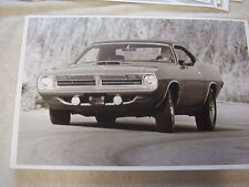 1970 PLYMOUTH BARRACUDA   CUDA    11 X 17  PHOTO /  PICTURE