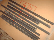 Oldsmobile Cutlass Inner Outer Window Sweep Seals All Four Doors 97 98 99 Used