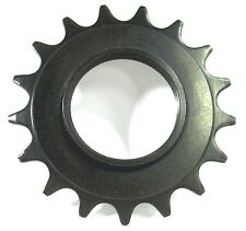"BASIC BLACK 16T COG Good Hardened Steel Fixed Gear Track 3/32"" FREE USA SHIPPING"