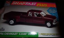 AMT 1996 CHEVROLET C-3500 DOOLEY PICKUP SNAP 1/25 MODEL CAR MOUNTAIN KIT FS