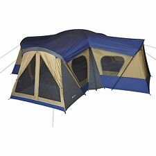 Ozark Trail Base Camp 14 Person Cabin Tent 3 Room Family Camping Easy assembly