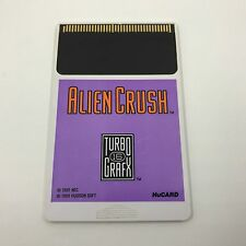 Alien Crush (TurboGrafx-16, 1989) *PINS CLEANED - TESTED - SHIPS FAST*