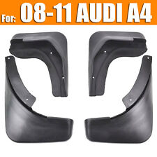 FIT FOR 2009 2010 2011 AUDI A4 (B8) SEDAN MUD FLAP FLAPS SPLASH GUARDS MUDGUARD