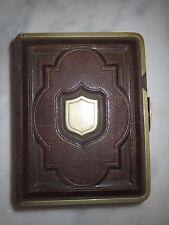 Kleines leeres Album für 46 CDV - Hartpappe-Photos - um ca. 1870/80er Jahre