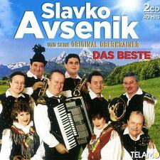 Slavko e la sua originale oberkrainer Avsenik-il meglio 2 CD NUOVO