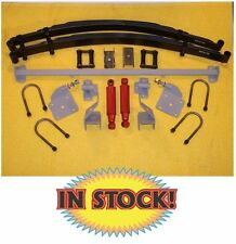 Chassis Engineering 1948-55 Chevy Pickup Dual Rear Leaf Spring Kit - AS-1015CY