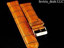Invicta Lupah Genuine Leather 26mm Turmeric Replacement Strap AUTHENTIC