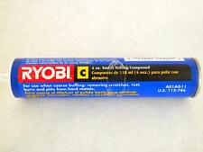 Ryobi Buffing Compound C Emery Removes Scratches Dents Rust Pitts on Metals