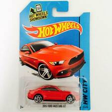 Hotwheels 2015 Ford Mustang GT ( Red ) - Hot Pick