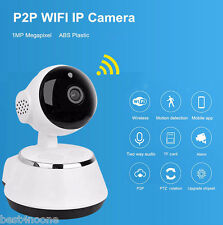 Smart 720P WiFi IP Camera Home Security Night Vision Motion Detection