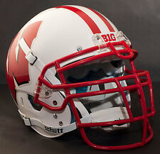 *CUSTOM* WISCONSIN BADGERS Schutt XP AUTHENTIC Football Helmet w/RJOP-UB-DW