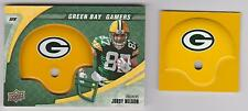 2008 Upper Deck Jordy Nelson ROOKIE Helmet Insert SWATCH GREEN BAY PACKERS Lot