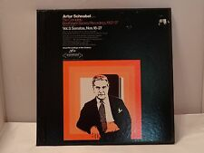 ARTUR SCHNABEL COMPLETE BEETHOVEN No 18-27 VOL 3 - 3 LP BOX