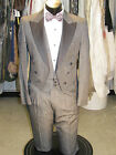 MENS TAILS TUXEDO GRAY W/MATCHING VEST 4PCS 35R PROM