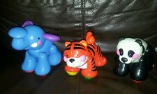 Fisher Price Amazing Animals - elephant, panda and tiger.