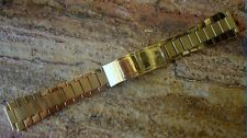 Vintage Omega Gold Plate Watch Bracelet ~ LQQK ~ BUY!