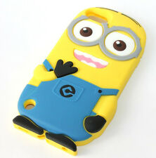For iPod Touch 5th / 6th Generation -CUTE MINION Soft Rubber Silicone Case Cover